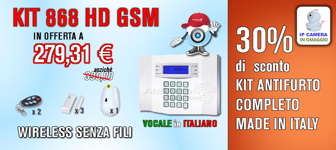 Kit antifurto 868 senza fili - Miglior antifurto casa wireless ...